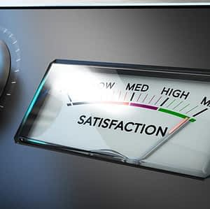 Money can't buy happiness when it comes to satisfaction with service
